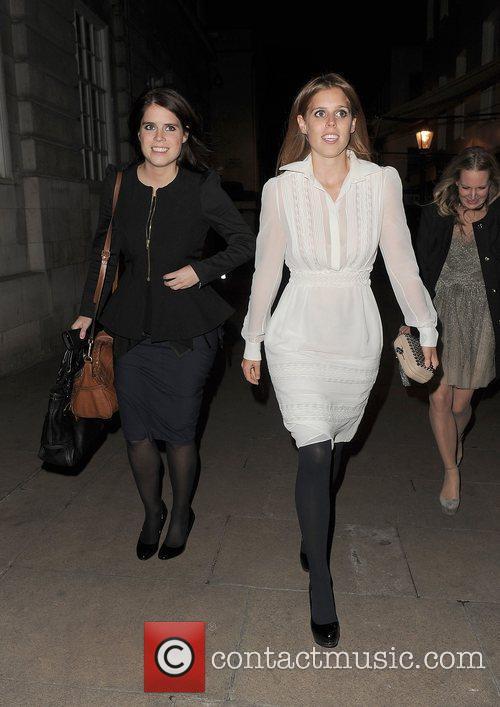Princess Eugenie, Princess Beatrice and Lou Lou's 2