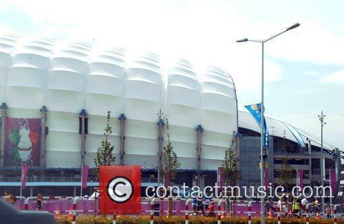 Poznan Stadium UEFA Euro 2012 - Fans in...