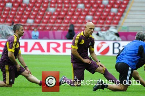 howard webb referee and officials training before 3966704