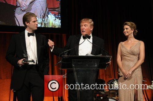 Eric Trump, Donald Trump, and Ivanka Trump European...