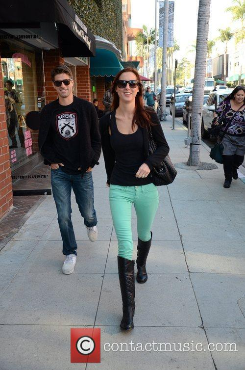 Eva Amurri Martino and her husband Kyle Martino...