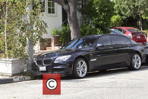 Eva Longoria gets a parking ticket on both...