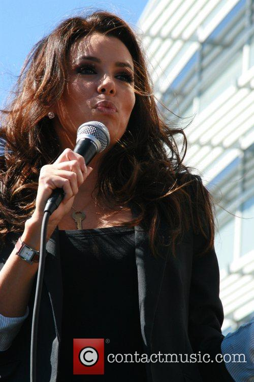 Eva Longoria, University, Las Vegas and Obama 12