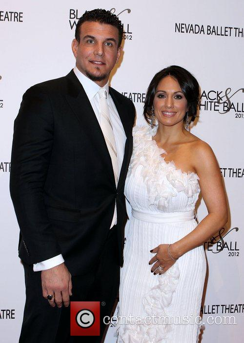 Frank Mir and his wife Jennifer Black &...