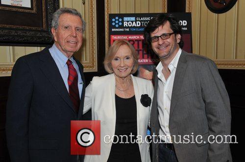 Jefferey Hayden, Eva Marie Saint and Ben Mankiewicz...