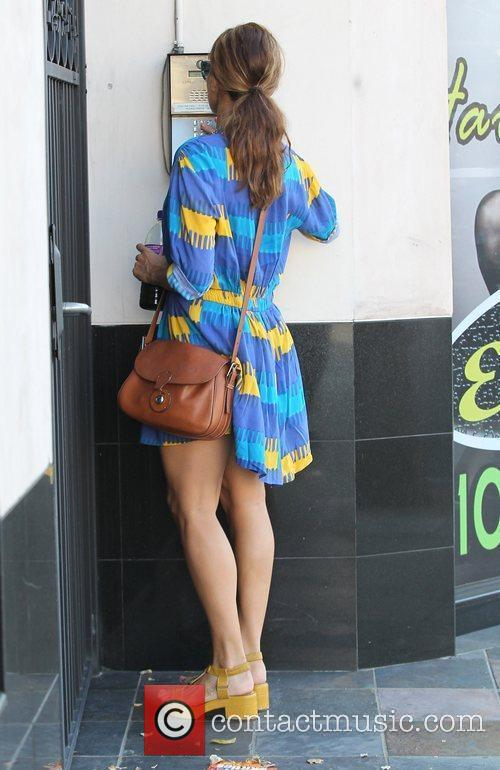 Visits Cristina Radu European Skin Care in Beverly...