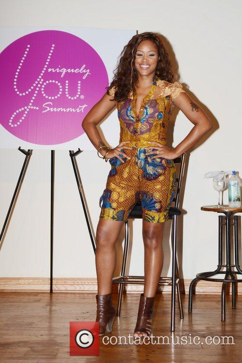 Speaks about self-discovery during the 2012 Uniquely You...