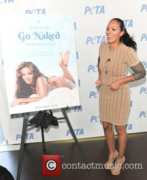 Evelyn Lozada, Basketball Wives, I'd Rather Go Naked, Than Wear Fur and Bob Barker Building 2