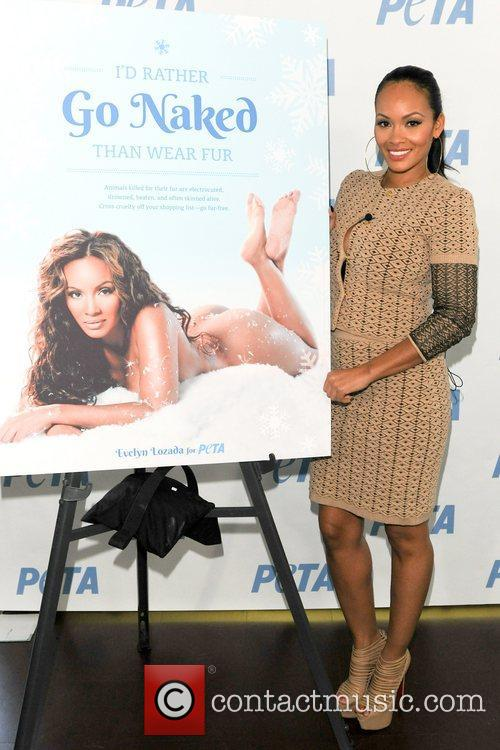 Basketball Wives, Evelyn Lozada, I'd Rather Go Naked, Than Wear Fur and Bob Barker Building 4