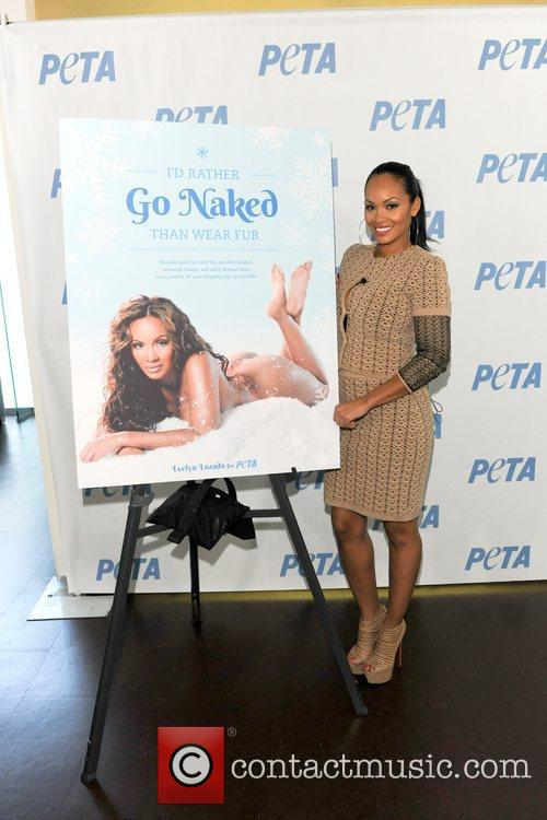 Basketball Wives, Evelyn Lozada, I'd Rather Go Naked, Than Wear Fur and Bob Barker Building 5