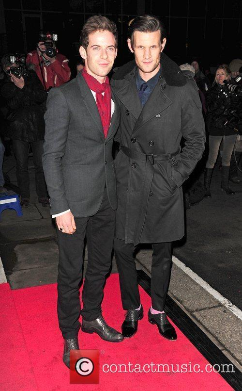 Harry Treadaway, Matt Smith 2012 London Evening Standard...