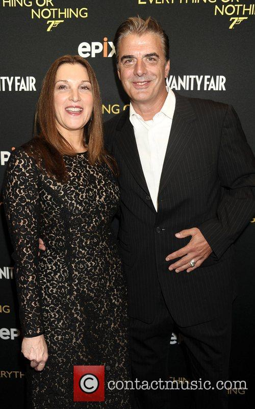 Barbara Broccoli and Chris Noth 1