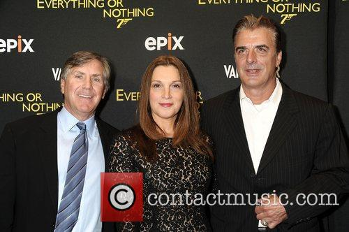 Mark Greenberg, Barbara Broccoli and Chris Noth...
