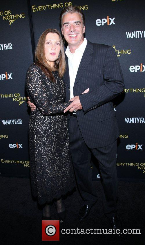 Barbara Broccoli and Chris Noth 3