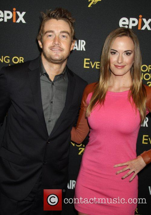 Robert Buckley and Jena Sims attends EPIX And...
