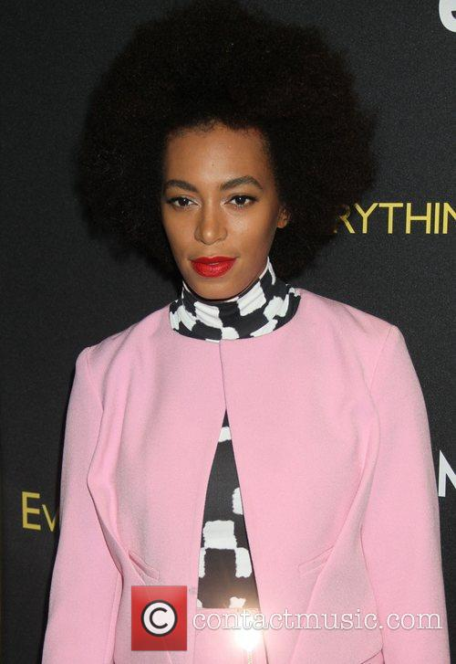 Solange Knowles attends EPIX And VANITY FAIR present...