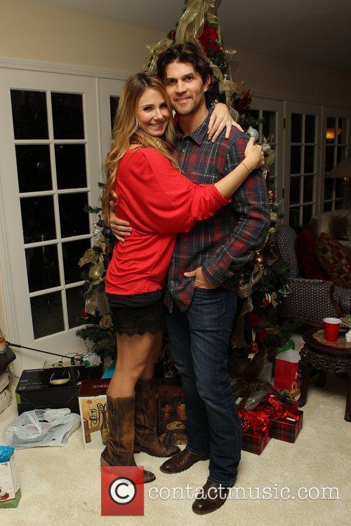 Vanessa Evigan and fiancee Miles The Evigan Family...
