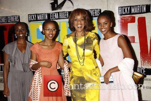 Gayle King and freinds  Broadway opening night...