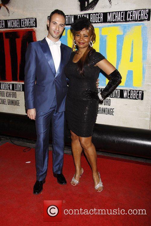 Tonya Pinkins  Broadway opening night of 'Evita'...