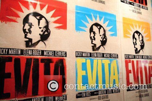 Atmosphere  Broadway opening night of 'Evita' at...