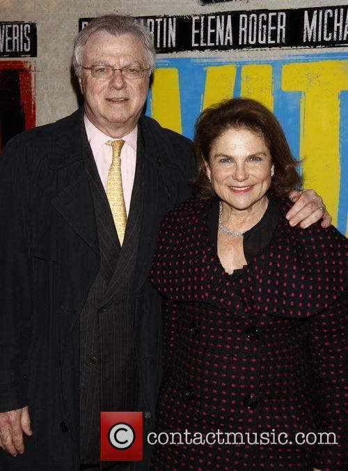 Andrew Harris-Levy and Tovah Feldshuh Broadway opening night...
