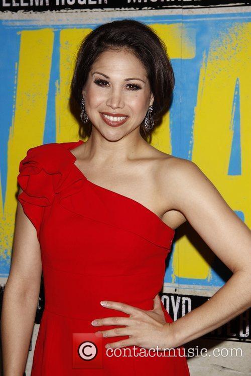Bianca Marroquin Broadway opening night of 'Evita' at...