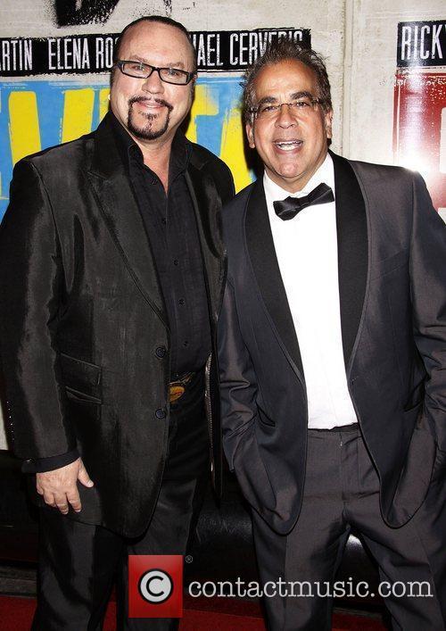 Desmond Child and Richard Jay-Alexander Broadway opening night...