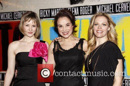 Jill Paice, Alexandra Silber and Elizabeth Stanley...