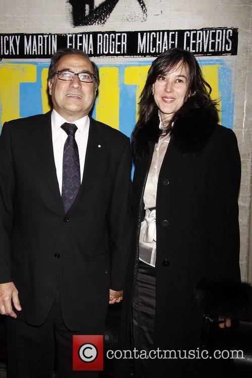 Jorge Arguello and Susan Sega  Broadway opening...