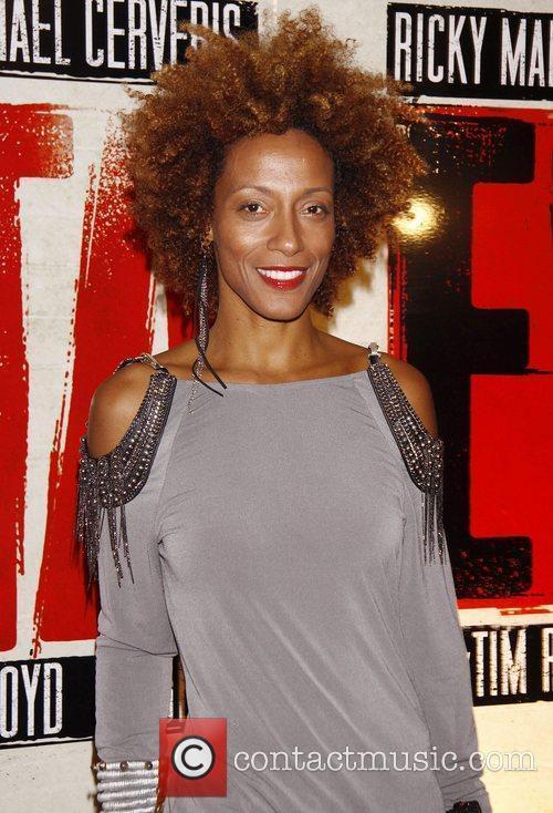 Karine Plantadit    Broadway opening night...