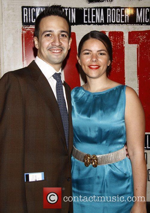Lin-Manuel Miranda and Vanessa Miranda...