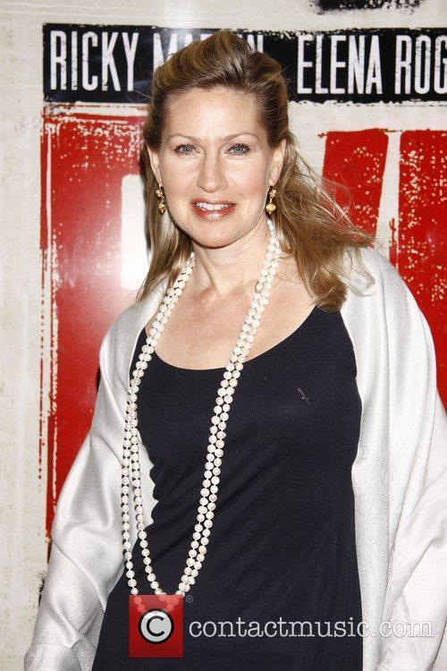 Luba Mason  Broadway opening night of 'Evita'...