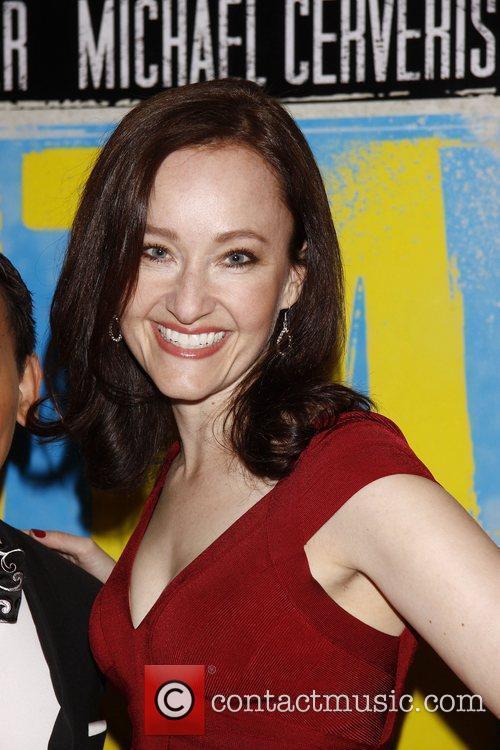 Melissa van der Schyff  Broadway opening night...