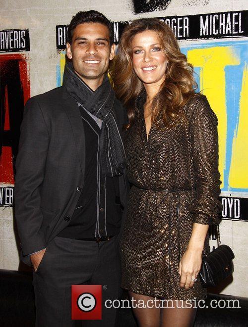Rafael Marquez and Jaydy Michel...