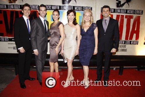 Cast and Ricky Martin 3
