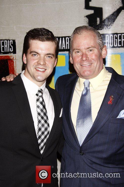 Jonathan Shew and Timothy Shew  Broadway opening...