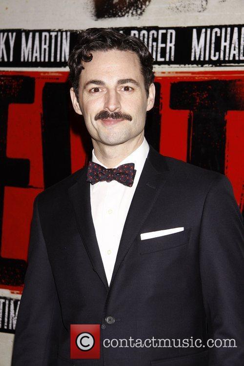 Max von Essen  Broadway opening night after...