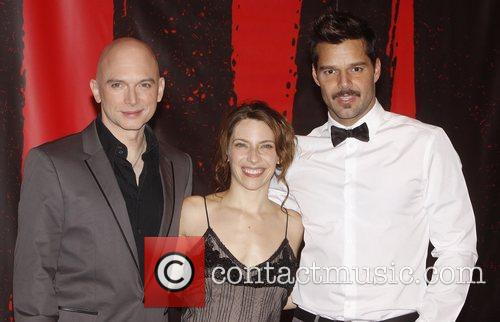 Michael Cerveris and Ricky Martin 2