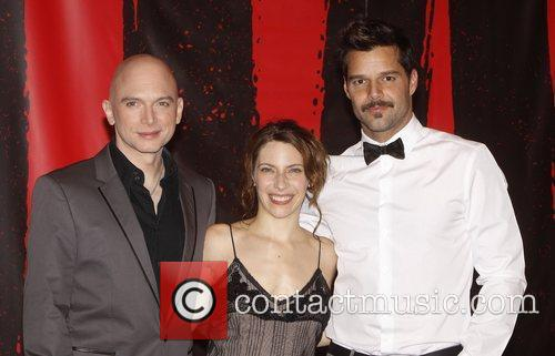 Michael Cerveris and Ricky Martin 4