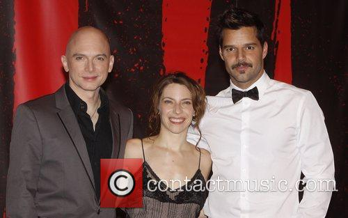 Michael Cerveris and Ricky Martin 1