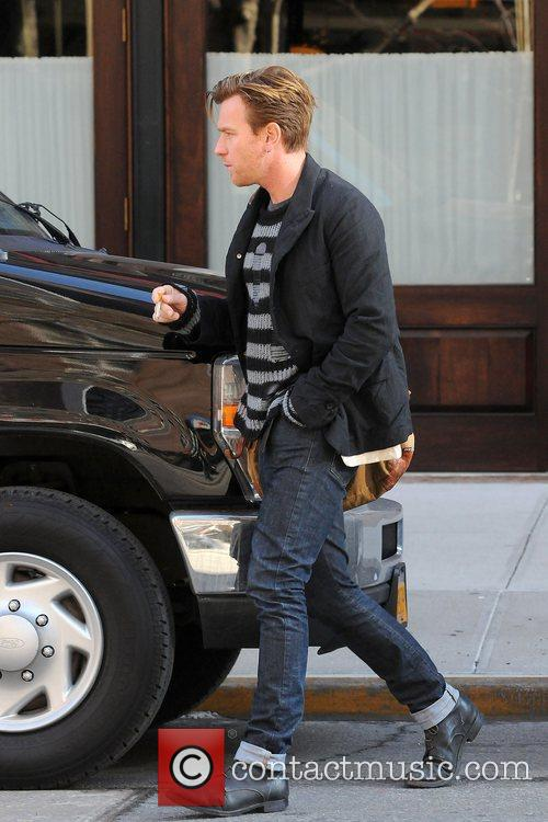 Ewan Mcgregor and Manhattan Hotel