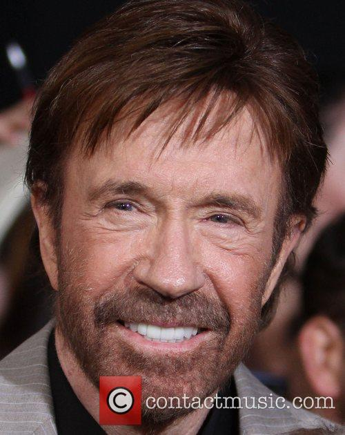 Chuck Norris  at the Los Angeles Premiere...