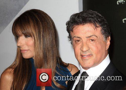 Jennifer Flavin and Sylvester Stallone  at the...