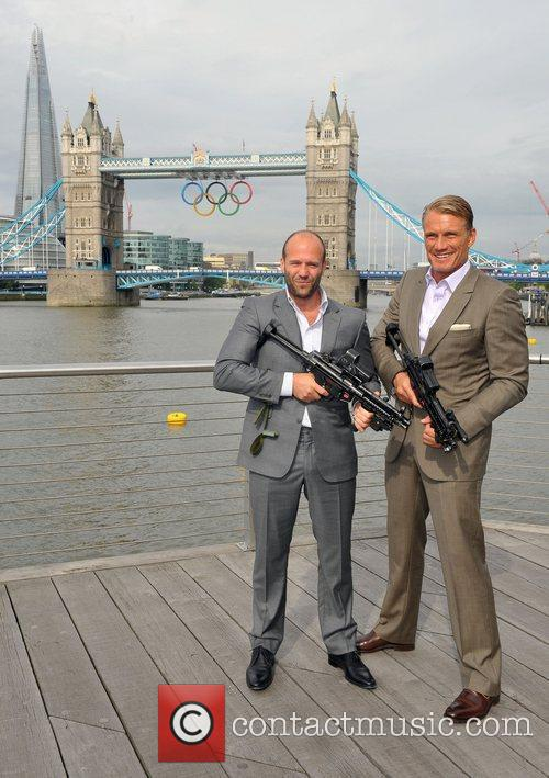 Jason Statham and Dolph Lundgren 1