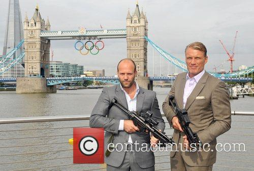 Jason Statham and Dolph Lundgren 7