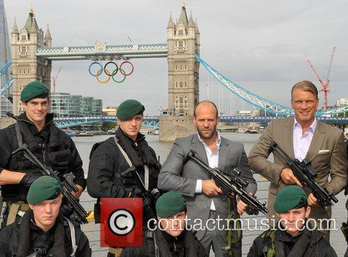Jason Statham and Dolph Lundgren 8