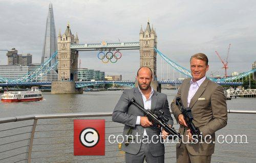 Jason Statham and Dolph Lundgren 9