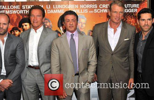 Sylvester Stallone and Dolph Lundgren 2