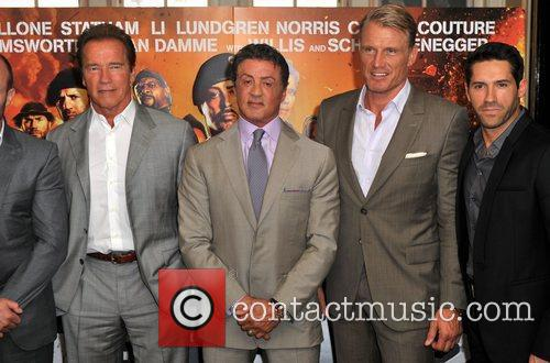 Sylvester Stallone and Dolph Lundgren 3