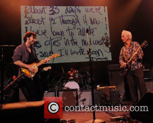 Dweezil Zappa and Robby Krieger